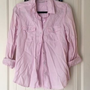 Halogen pink chambray S